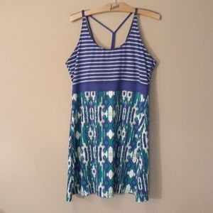 Soybu Athlesisure Dress With Shelf Bra Like New
